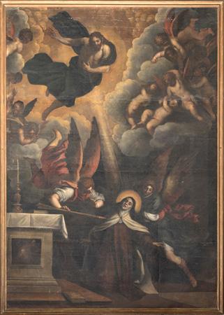 Santa Teresa di Palma il Giovane: nuovo restauro a San Pancrazio