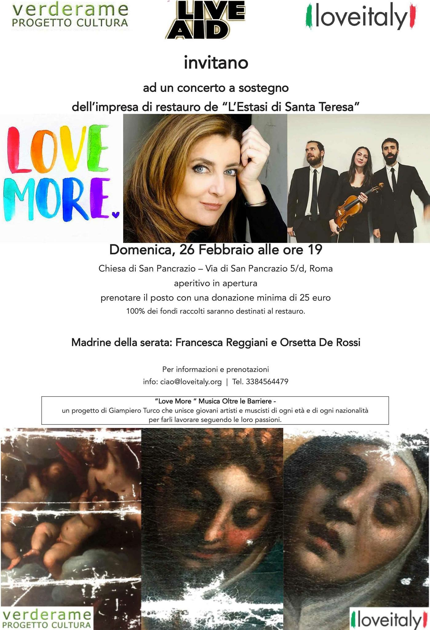 Un concerto per Santa Teresa: serata evento a San Pancrazio
