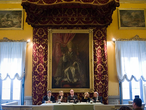 "Presentation of the project ""Caravaggio meets Vasari"" in Galleria Doria Pamphilj"