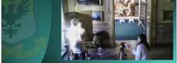 Caravaggio meets Vasari: live works