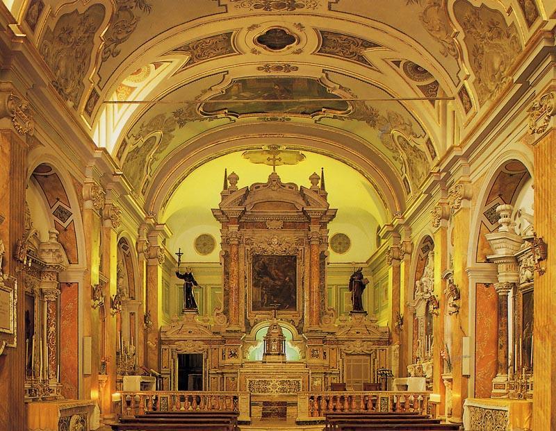 Pescocostanzo: Church of Gesù and Maria
