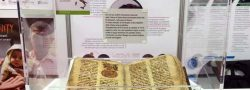 L'antico manoscritto proveniente da Qaraqosh