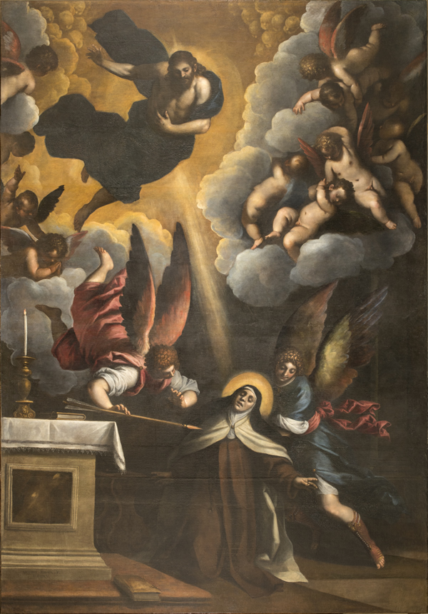 2016-2017: Palma il Giovane and the great canvas of Estasi of Santa Teresa in the Church of San Pancrazio in Rome.