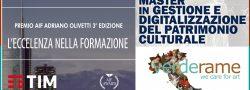 """Premio """"Adriano Olivetti"""" alla JCU per il master in """"Gestione e digitalizzazione del patrimonio culturale"""""""